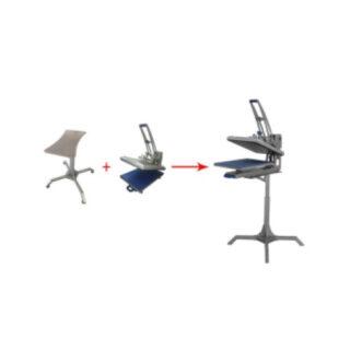 Img___0014_Heat press stand , adjustable heightLocking wheels on bottom $169.00